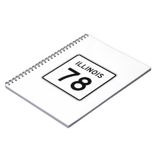 Illinois Route 78 Notebook