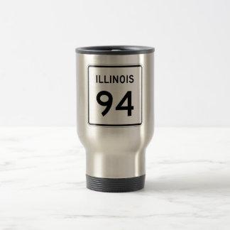 Illinois Route 94 Travel Mug