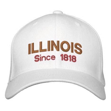 Illinois Since 1818 Cap