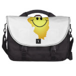 Illinois Smiley Face Bag For Laptop