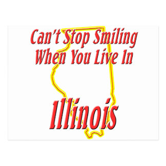 Illinois - Smiling Postcard