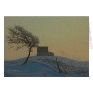 Illinois Snow Storm Card
