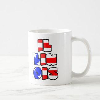 Illinois Stacked - Mug