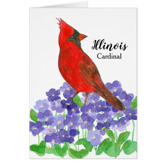 illinois state bird red cardinal zazzle com