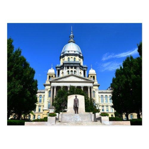 Illinois State Capitol Building, Springfield Postcard