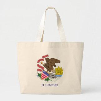 Illinois State Flag bag