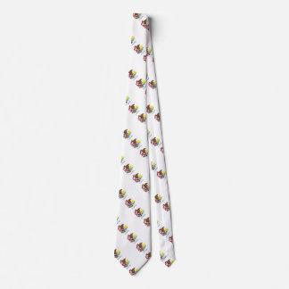 Illinois State Flag Design Neck Tie