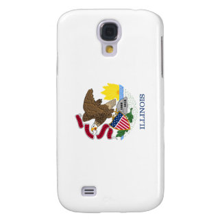 Illinois State Flag Samsung Galaxy S4 Covers