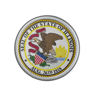 Illinois state flag usa united america symbol seal speaker