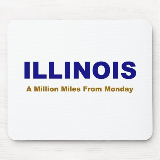Illinois State Mouse Pad