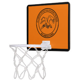 Illinois State Politicians Prison Mini Basketball Hoop