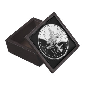 Illinois State Quarter Gift Box