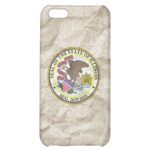 Illinois State Seal iPhone 5C Covers
