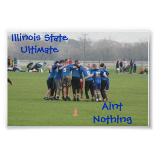 Illinois State Ultimate Poster