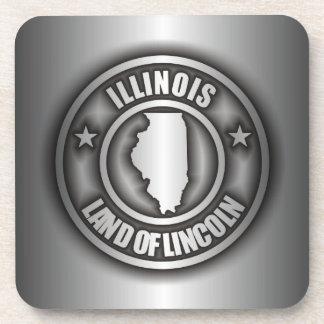 """""""Illinois Steel"""" Drink Coasters"""
