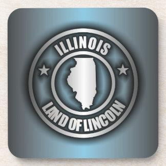 """""""Illinois Steel"""" Drink Coasters (B)"""