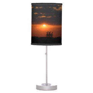 Illinois Sunset Desk Lamp