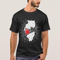Illinois Teacher Gift - IL Teaching Home State T-Shirt