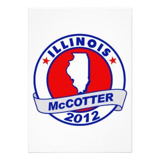 Illinois Thad McCotter Custom Invitations