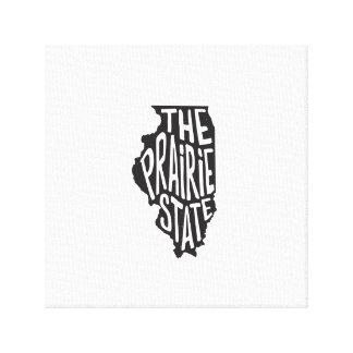 Illinois: The Prairie State Canvas Print
