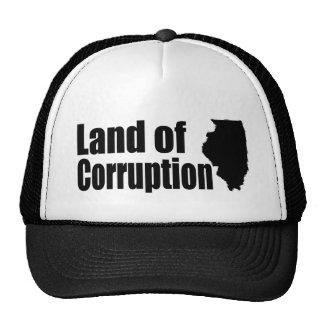 Illinois: Tierra de la corrupción Gorro De Camionero