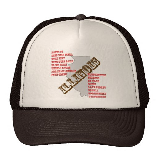 ILLINOIS TRUCKER HATS