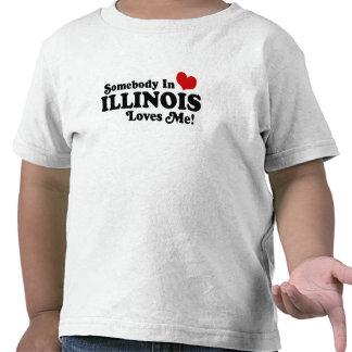 ILLINOIS T SHIRTS
