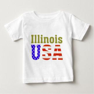 Illinois USA! Baby T-Shirt