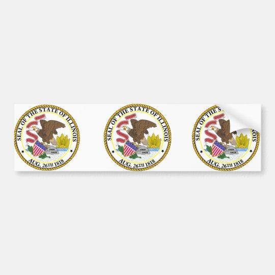 Illinois, USA Bumper Sticker