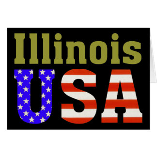 Illinois USA! Card