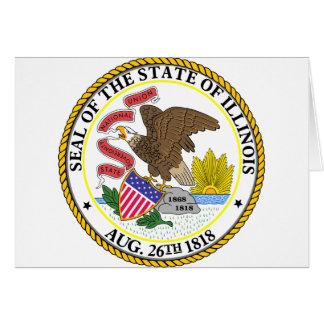 Illinois, USA Greeting Card