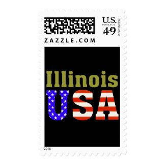 Illinois USA! Stamp