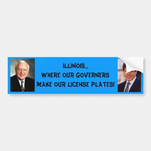 Illinois...Where our ... Bumper Sticker