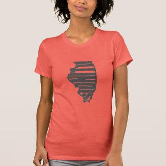 Illinois Woodcut Shirts
