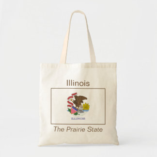 Illinoisan Flag Bag