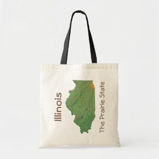 Illinoisan Map Bag