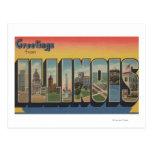 IllinoisLarge Letter ScenesIllinois 2 Post Card
