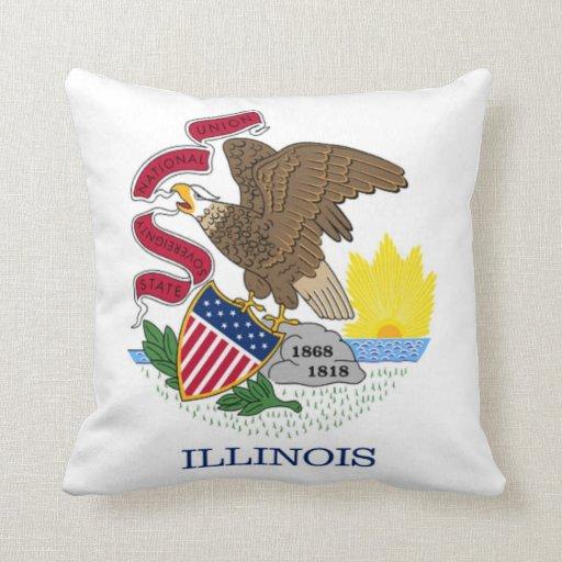 ILLINOIS'S American MoJo Pillow
