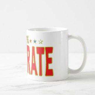 Illiterate Star Tag Classic White Coffee Mug