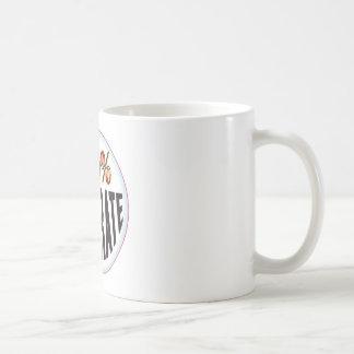 Illiterate Tag Classic White Coffee Mug