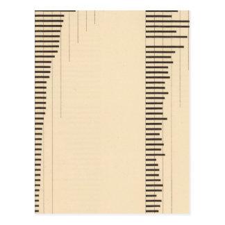 Illiterates de 84 proporciones, blanco extranjero postales