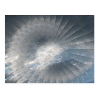 Illlusionary Cloud Gift Items Postcard