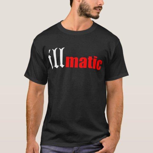 Illmatic Nas Hip Hop Rap Dj Trap 2 Pac Biggie Kany T-Shirt