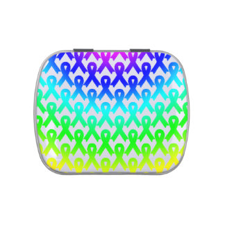 Illness Awareness - Pill Container Jelly Belly Candy Tin