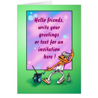 Illow artpainter - Customizable Greetingcard Card