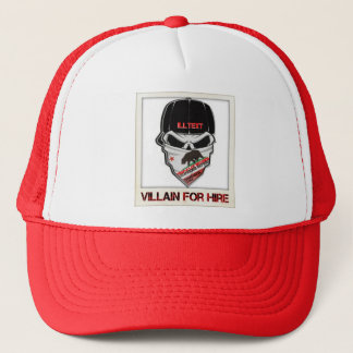 ILLTEXT villain for hire hat