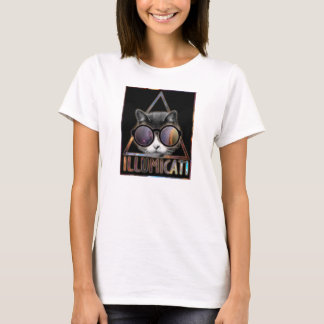 Illumicati Cat Secret Society T-Shirt