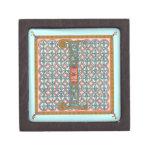 Illuminata *I* Monogrammed Miniature Gift Box Premium Trinket Box