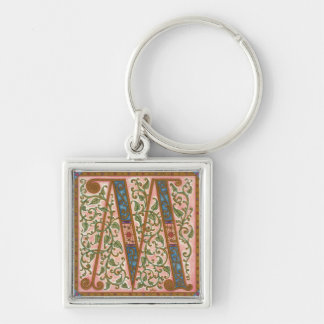 Illuminata *M* Monogrammed  Keychain