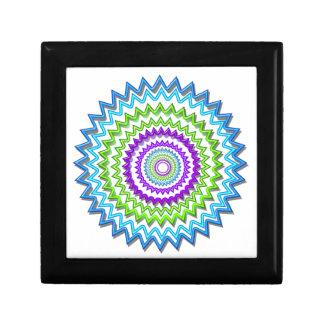 Illuminate BlueStar Chakra - Purple at Heart Trinket Boxes